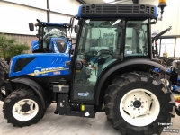 Small-track Tractors New Holland T 4. 110V   FRONTLIFT-PTO  CAB 4 LEVEL